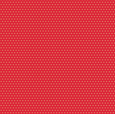 Canvas Corp - 12x12 Cardstock - Red and Kraft Mini Dot Reverse