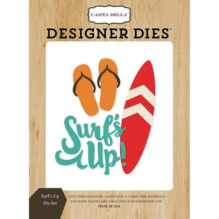 Carta Bella - Beach Day Collection - Surf's Up Dies
