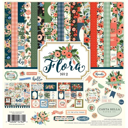 Carta Bella - Flora No. 2 Collection - Collection Kit