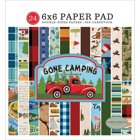 Carta Bella - Gone Camping Collection - 6x6 Paper Pad
