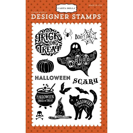 Carta Bella - Haunted Collection - Halloween Haunts Clear Stamp