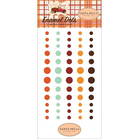 Carta Bella - Fall Break Collection - Enamel Dots