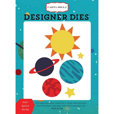 Carta Bella - Space Academy Collection - Solar System Die Set