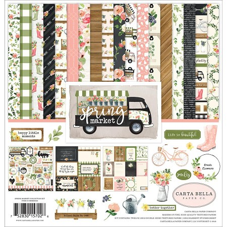 Carta Bella - Spring Market Collection - Collection Kit