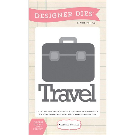Carta Bella - Travel Stories Collection - Air Travel Die
