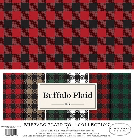 Carta Bella - Buffalo Plaid Collection - Collection Kit