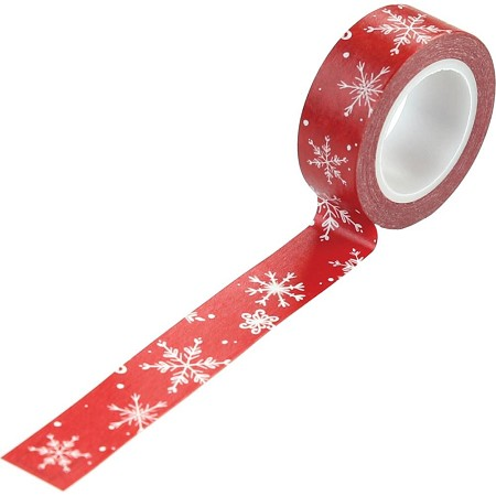 Carta Bella - Christmas Market Collection - Christmas Greetings Decorative Tape