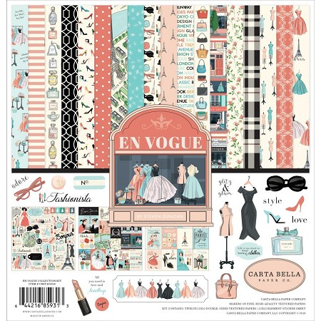 Carta Bella - En Vogue Collection - Collection Kit