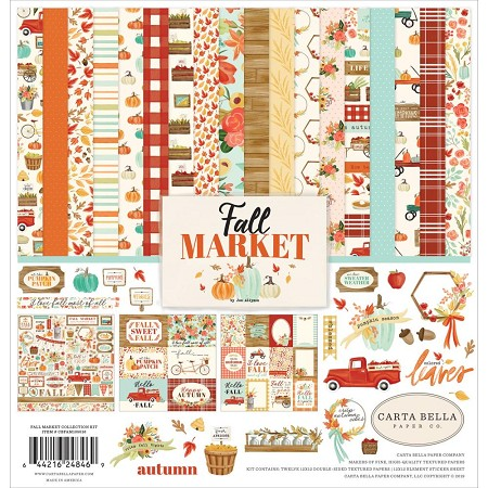 Carta Bella - Fall Market Collection - Collection Kit
