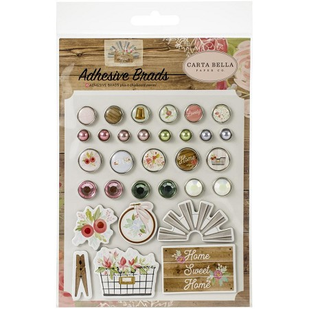 Carta Bella - Farmhouse Market Collection - Adhesive Brads