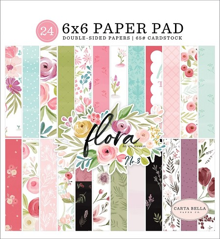 Carta Bella - Flora No.3 Collection - 6x6 Paper Pad