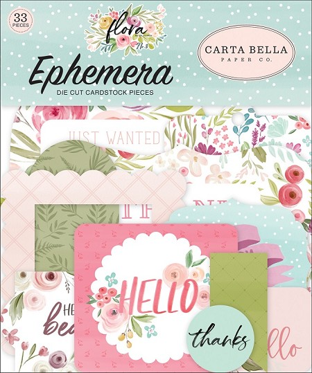 Carta Bella - Flora No.3 Collection - Die Cut Ephemera