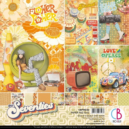 Ciao Bella - The Seventies Collection - Paper Collection Kit