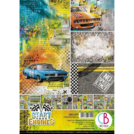 Ciao Bella - Start Your Engines Collection - Creative Pad