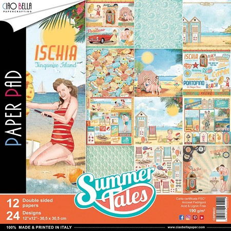 Ciao Bella - Summer Tales Collection - Paper Collection Kit