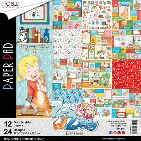 Ciao Bella - Zoe & Ziggy Collection - Paper Collection Kit