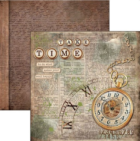 Ciao Bella - Ciao Bella Collection - 12x12 Cardstock - Take Your Time