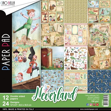 Ciao Bella - Neverland Collection - Paper Collection Kit