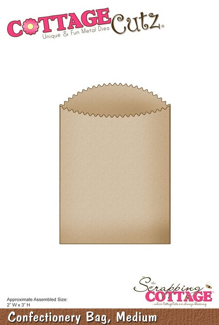 Cottage Cutz - Dies - Confectionery Bag, Medium