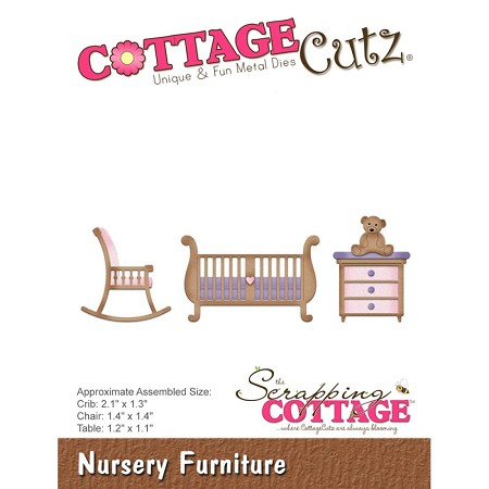 Cottage Cutz - Die - Nursery Furniture