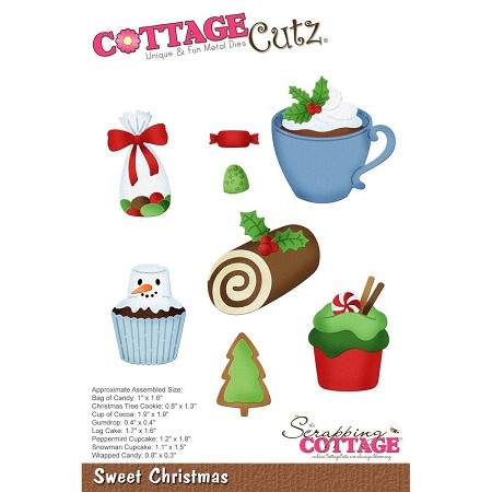 Cottage Cutz - Die - Sweet Christmas