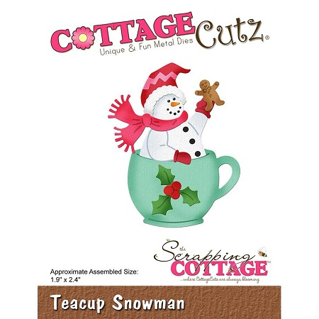 Cottage Cutz - Die - Teacup Snowman