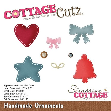 Cottage Cutz - Die - Handmade Ornaments