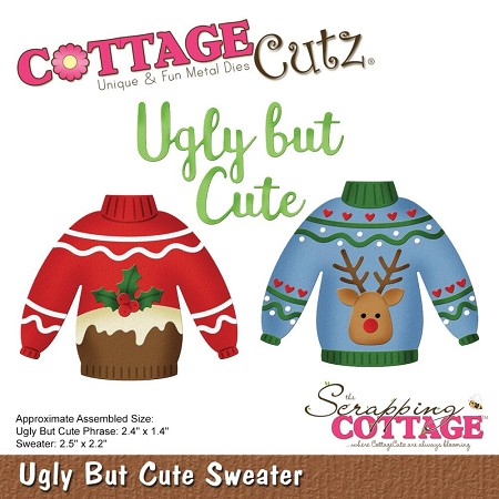 Cottage Cutz - Die - Ugly But Cute Sweater