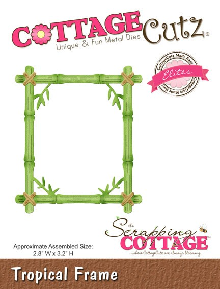 Cottage Cutz - Die - Tropical Frame (Elites)