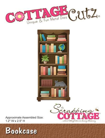Afbeeldingsresultaat voor Cottage cutz bookshelf