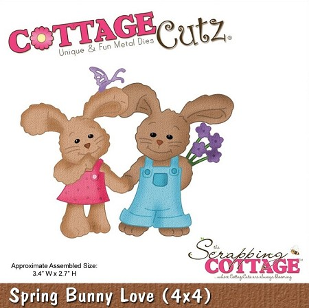 Cottage Cutz - Die - Spring Bunny Love