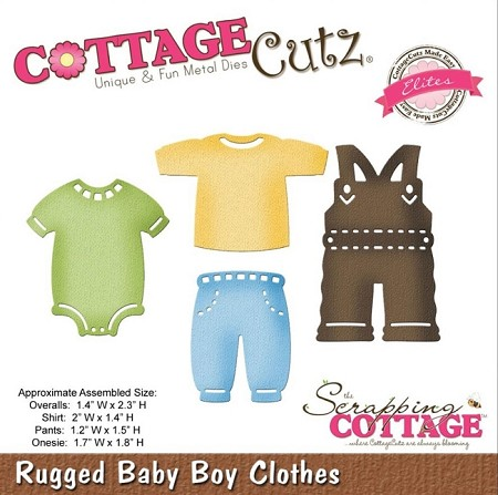 Cottage Cutz - Die -  Rugged Baby Boy Clothes