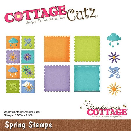 Cottage Cutz - Die - Spring Stamps