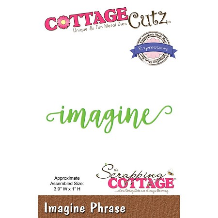 Cottage Cutz - Die - Imagine