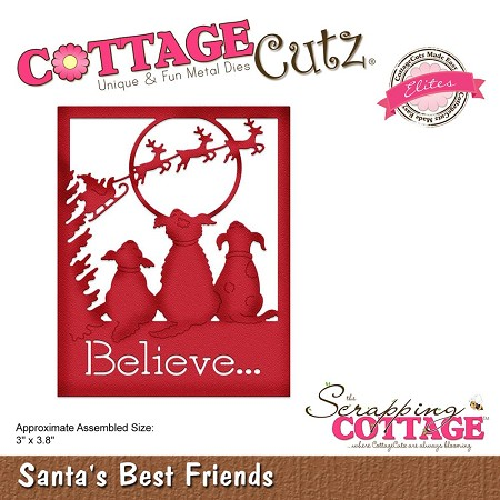 Cottage Cutz - Die - Santa's Best Friends (Elite)