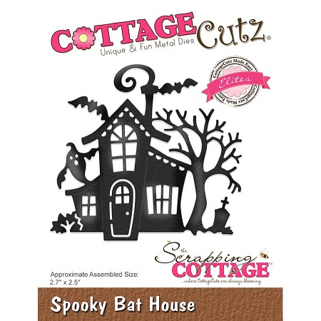 Cottage Cutz - Die - Spooky Bat House (Elite)