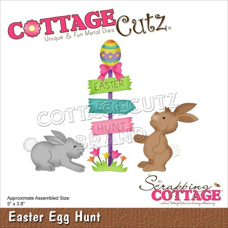 Cottage Cutz - Die - Easter Egg Hunt