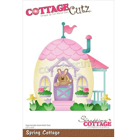 Cottage Cutz - Die - Spring Cottage