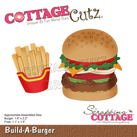 Cottage Cutz - Die - Build-A-Burger