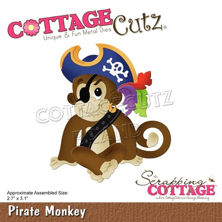 Cottage Cutz - Die - Pirate Monkey