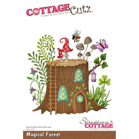 Cottage Cutz - Die - Magical Forest