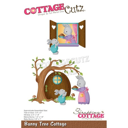 Cottage Cutz - Die - Bunny Tree Cottage