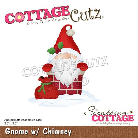 Cottage Cutz - Die - Gnome w/Chimney