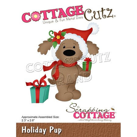 Cottage Cutz - Die - Holiday Pup