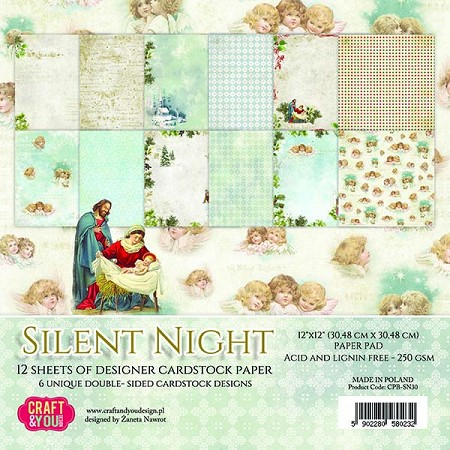 Craft & You - Silent Night 12x12 collection kit