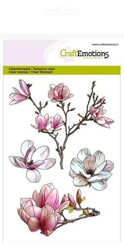 Craft Emotions - clear stamp - Magnolia