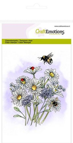 Craft Emotions - clear stamp - Wild Flowers 1