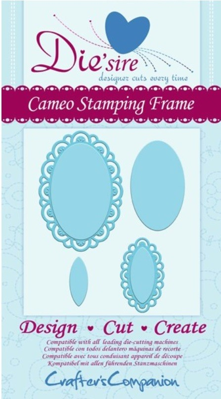 Crafter's Companion - Die'sire Decorative Dies - Cameo Stamping Frame :)