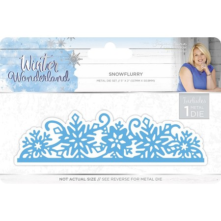 Crafter's Companion - Winter Wonderland Collection by Sara Davies - Snowflurry Die