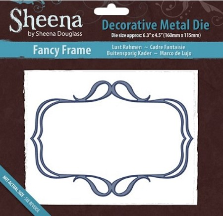Crafter's Companion - Sheena Decorative Metal Die - Fancy Frame